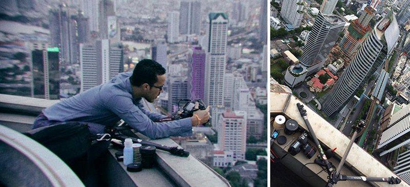 bangkok thailand photos from above 2