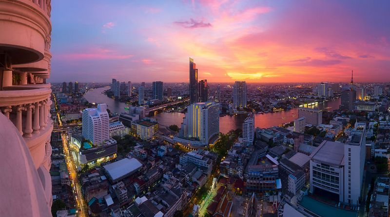 bangkok thailand photos from above 20