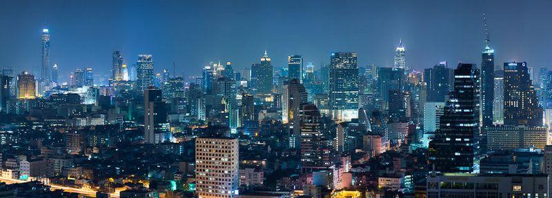 bangkok thailand photos from above 21