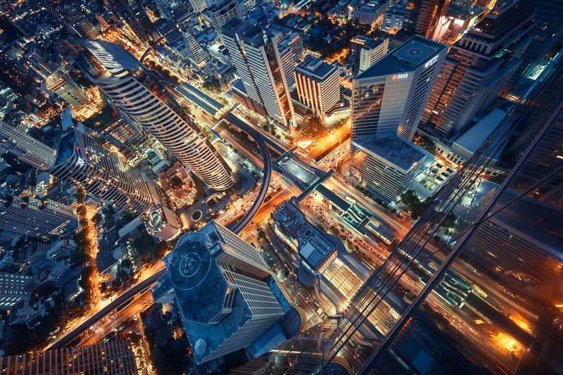 bangkok thailand photos from above 22