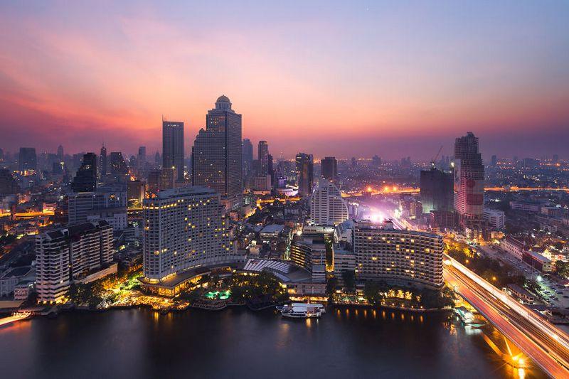 bangkok thailand photos from above 23