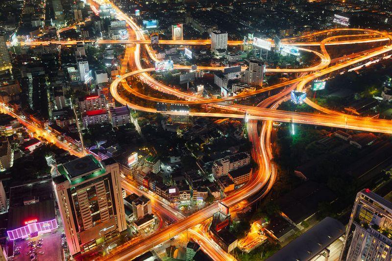 bangkok thailand photos from above 24