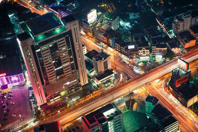 bangkok thailand photos from above 25