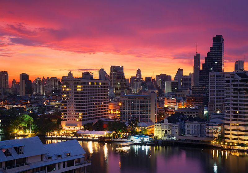 bangkok photos from above