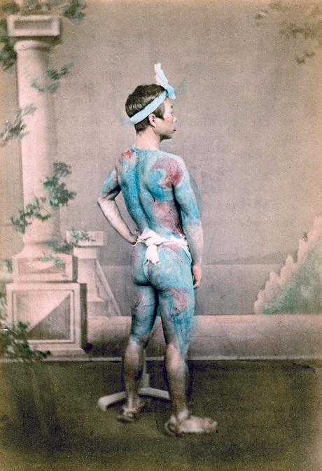 tattoo japanese culture history samurai bushido nude