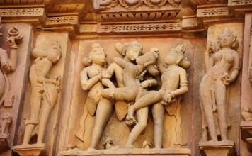 Khajuraho temples india