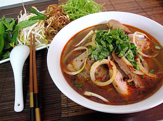 'Bún bò cay'. Photo: ngoisao.net