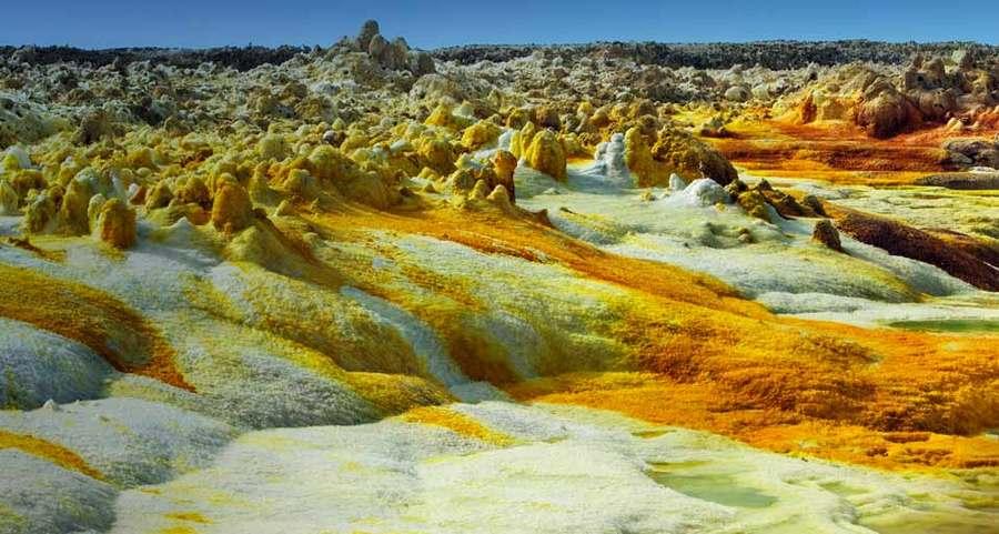 The Danakil Desert, Eritrea