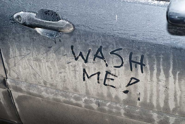 dirty cars on streets banned Russia