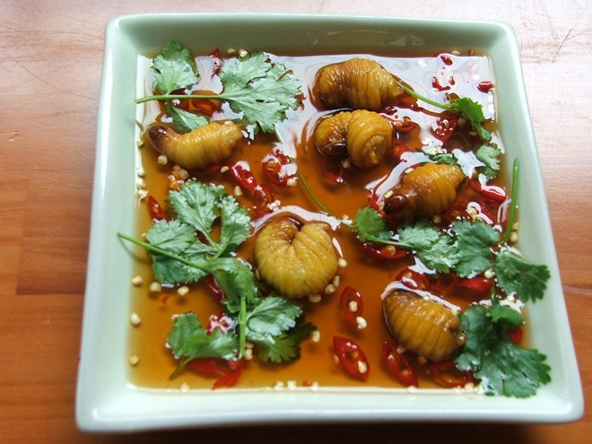 'Đuông dừa' is a dish that you can't miss when traveling the Mekong Delta. Photo: ngoisao.net