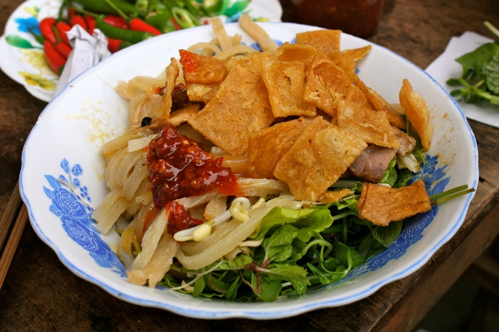 Some of the typical dishes of Hoi An will be taught to tourists. The photo shows Cao Lau - a very famous food only found in Hoi An Photo: travel.anandi.vn