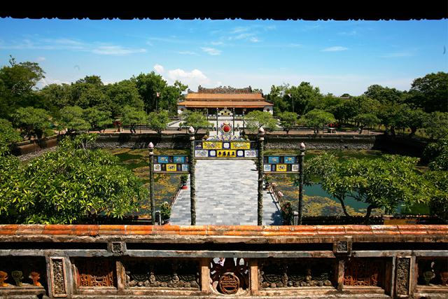 Hue Imperial Citadel. Image by Le The Thang