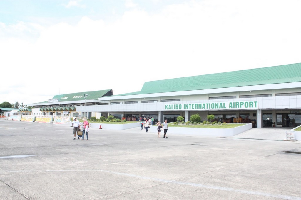 Kalibo international airport. Photo: aklanforum.blogspot.com