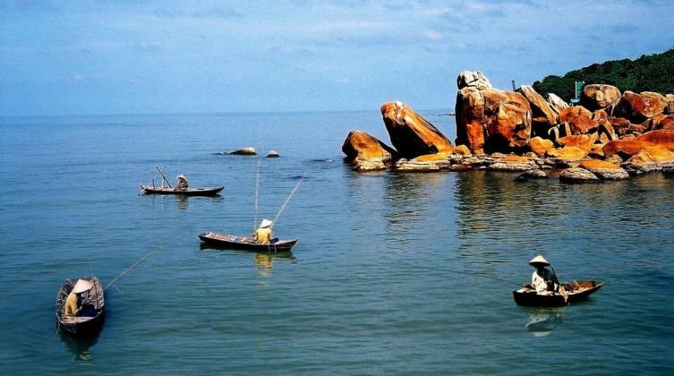 In Silver Stone island, Ca Mau. Photo: mytour.vn
