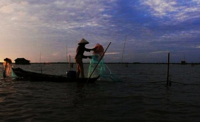 Thi Tuong pond, Ca Mau. Photo: lienhiephoicamau.com.vn
