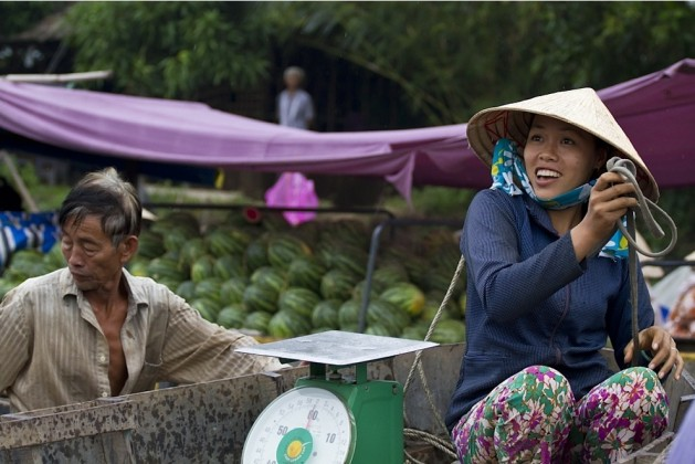 The smiles of Mekong Delta people. Photo: quintessentialcollectionvietnam.com