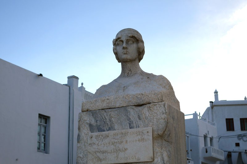 mykonos-female hero manto mavrogenous greece travel tips