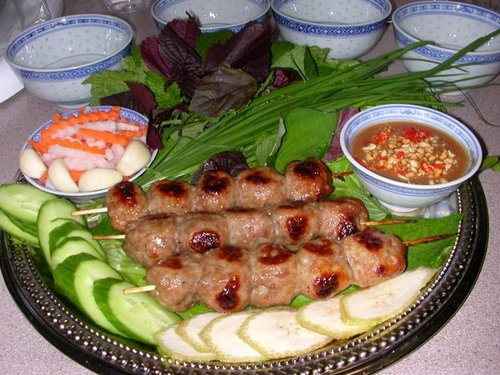 'Nem nướng Cái Răng'. Photo: ngoisao.net