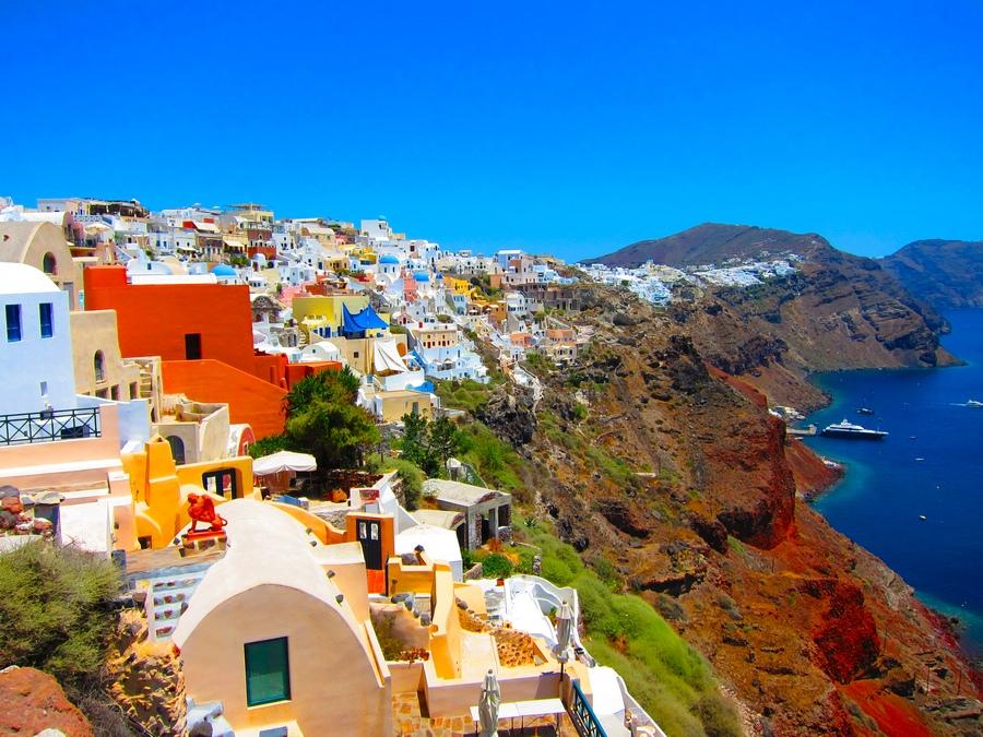 Santorini - the paradise on Earth