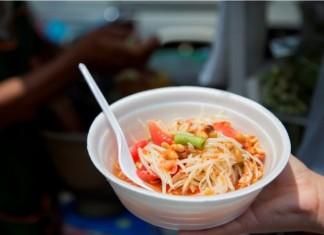 Som Tum (Spicy Green Papaya Salad)