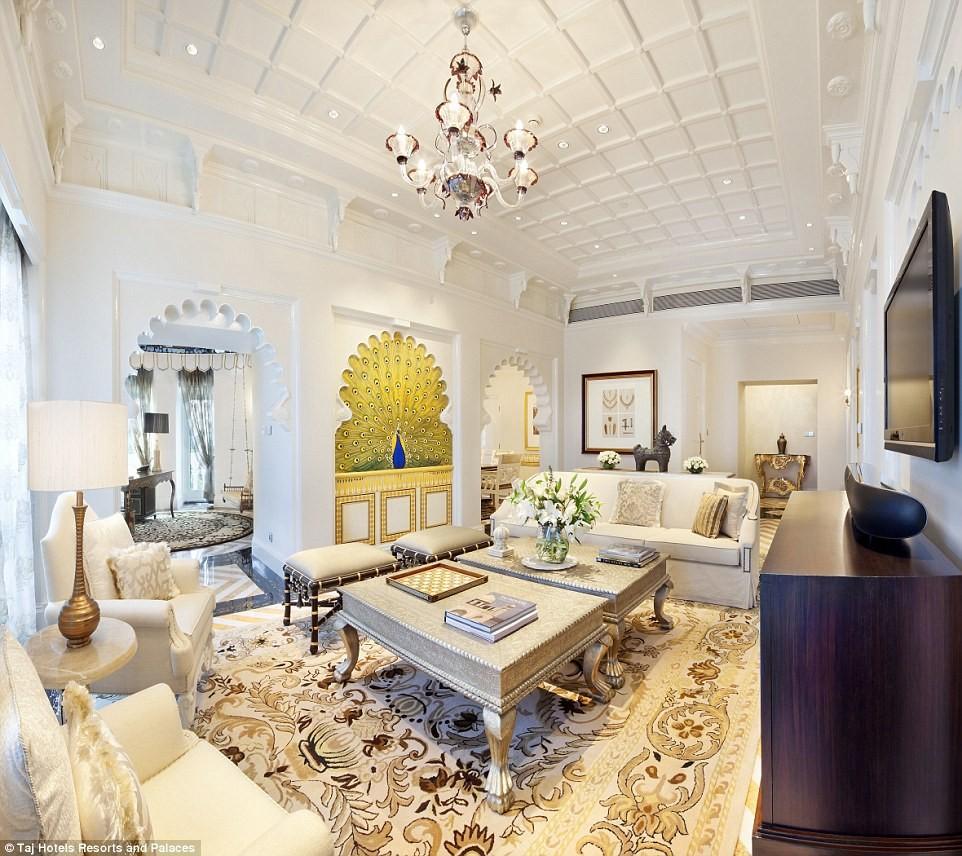 taj mahal palace india william stay