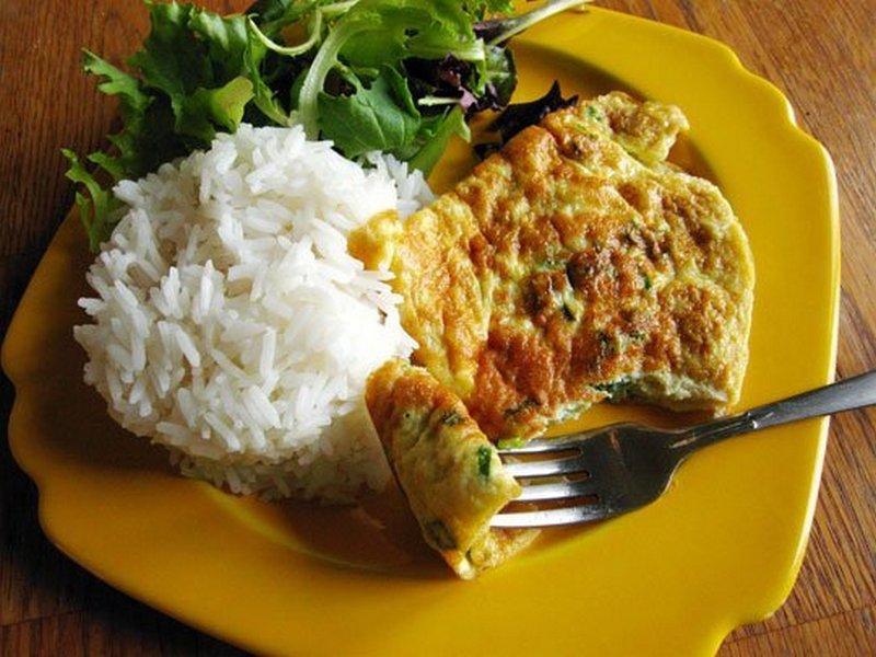 Kai Jeow (Thai Omelette)