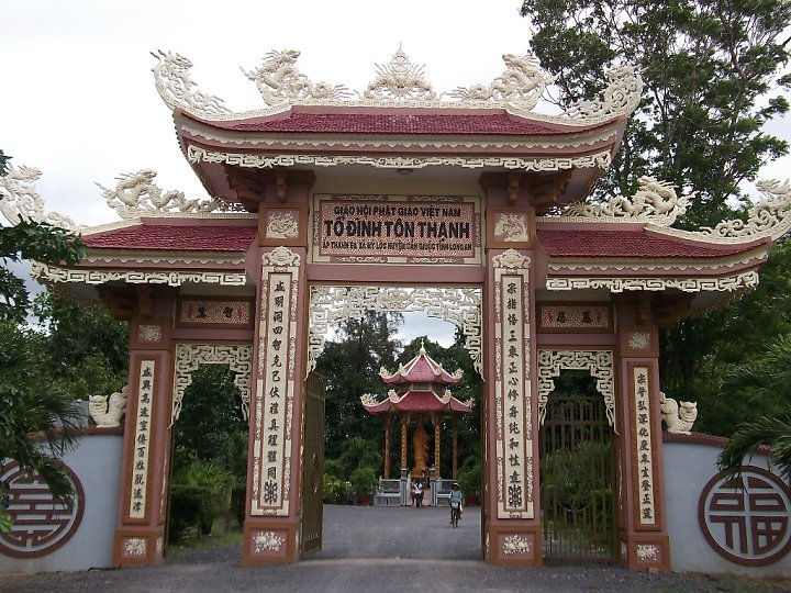 Ton Thanh pagoda. Photo: indochinalegend.com