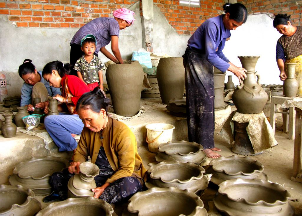 Pottery in Hoi An Photo: dulich-hoian.net