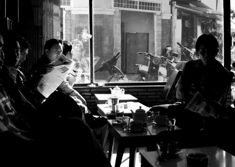 Tung café Dalat Vietnam