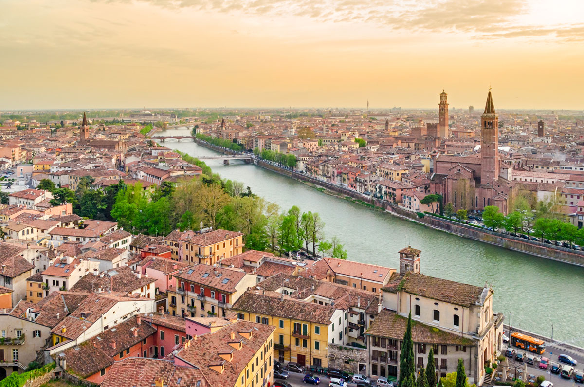 Verona city. Credit: Verona travel blog.