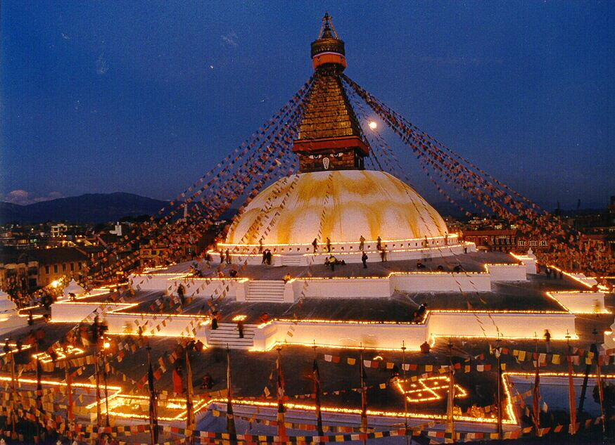Boudhanath temple Image credit: nepal blog 2017.