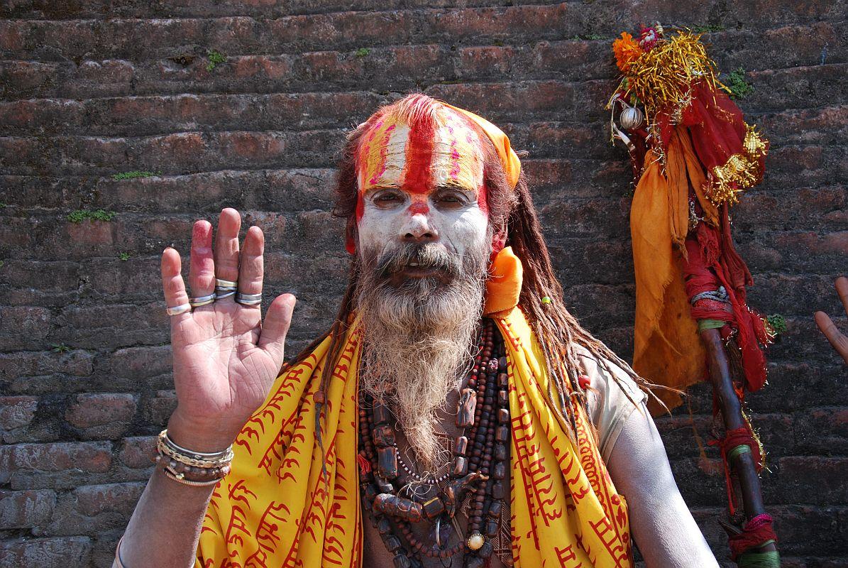 Pashupatinath Hindu Sadhu