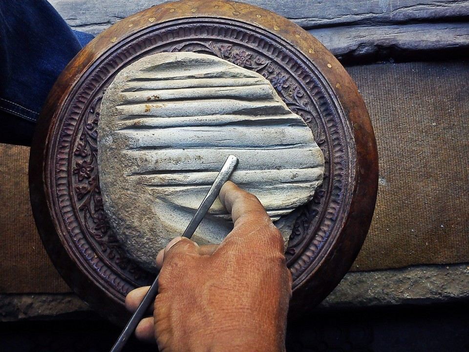 Learn How to Make Traditional Crafts: Wood Carving Workshop in Kathmandu, Nepal