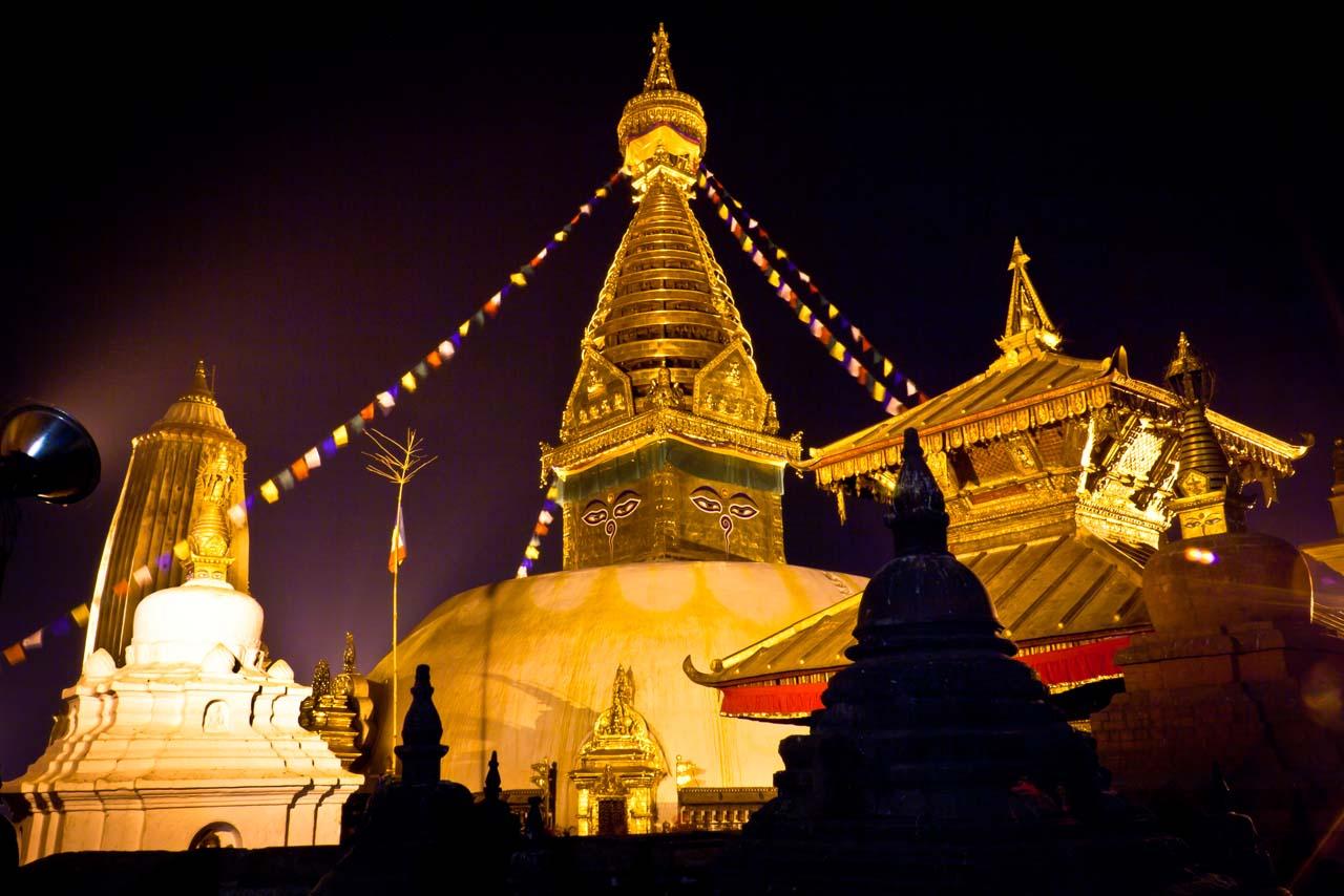 Swayambhunath-Stupa 3