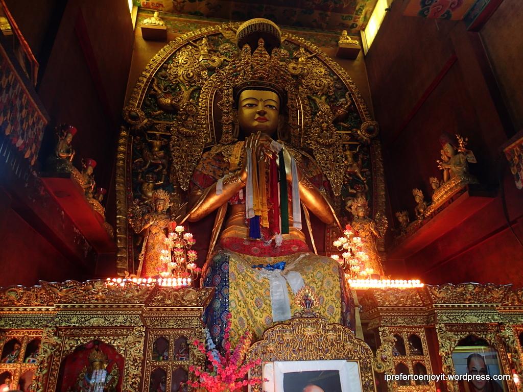 inside Boudhanath Stupa