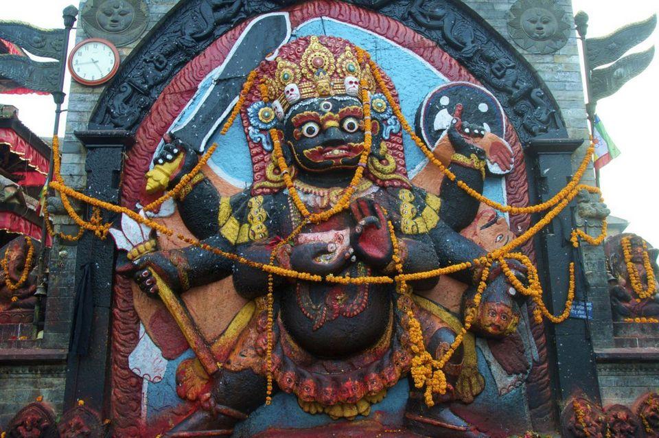 Kalabhairava, Kathmandu, Nepal
