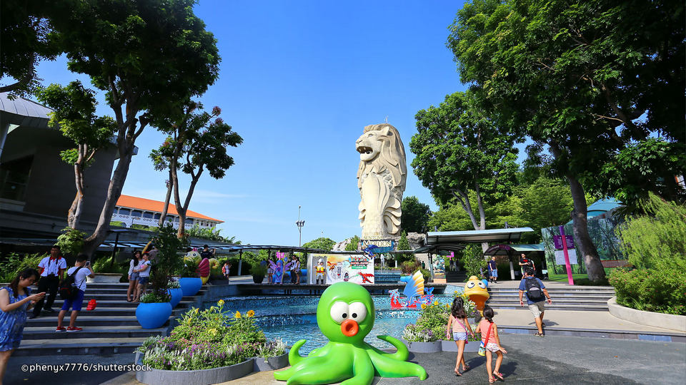 merlion walk sentosa1