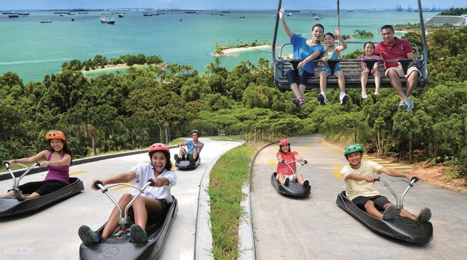 Sentosa Skyline Luge & Skyride places to visit in Sentosa Island Singapore