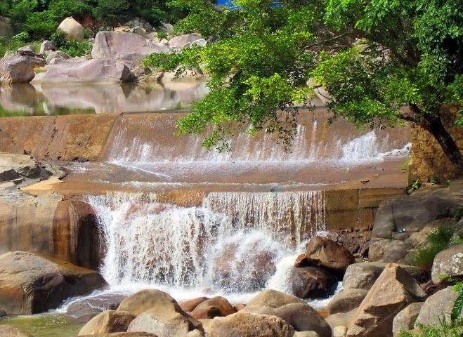 Krong Kma fall central highlands vietnam