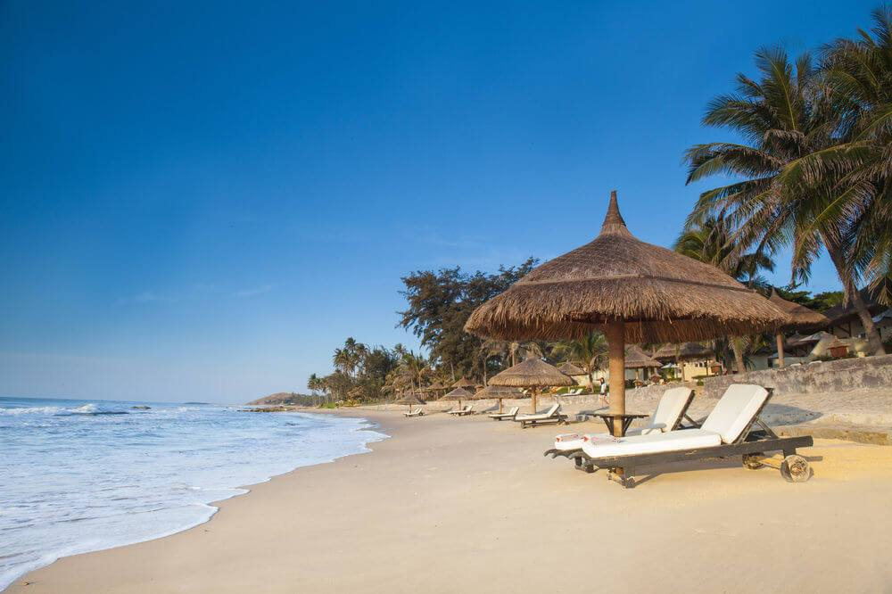 New charming beach in Victoria Phan Thiet Resort & Spa Vietnam