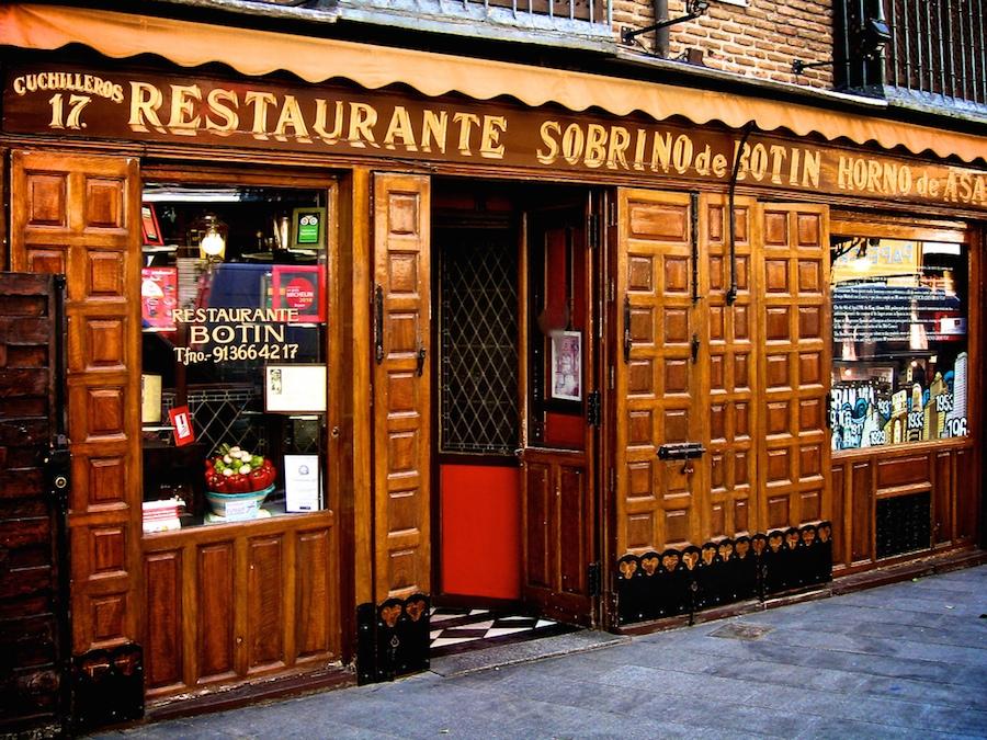 Botin restaurant — Oldest restaurant in Europe - Living + Nomads ...