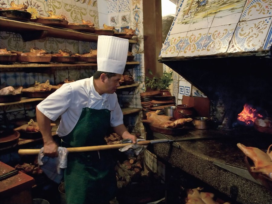 Roast Suckling Pig at Sobrino de Botín: The World's Oldest Restaurant