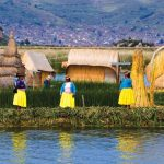 Exploring the life of Uros people in floating islands of Lake Titicaca