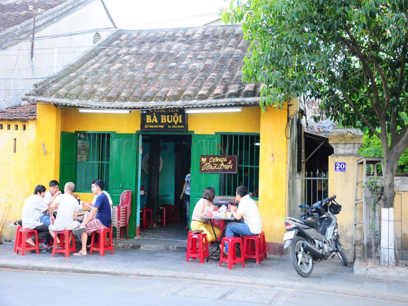 ba buoi chicken rice hoi an vietnam
