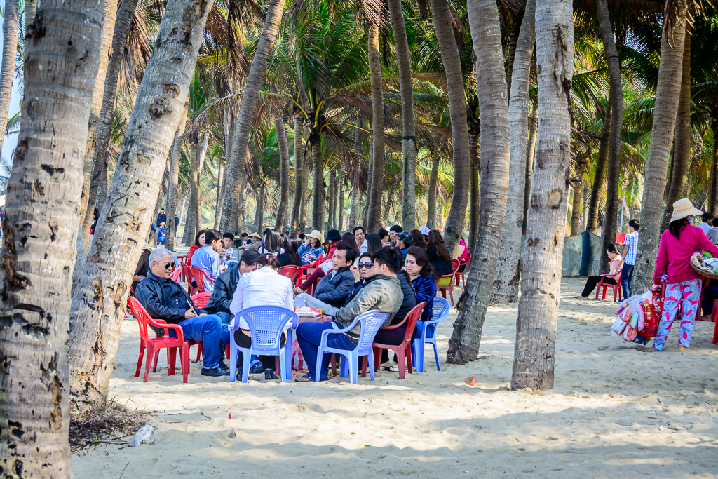 cua dai beach hoi an vietnam