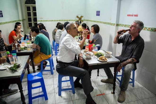 hanoi beer bun cha obama eat in hanoi vietnam
