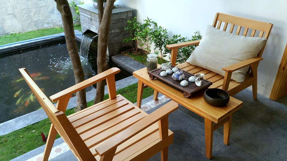 minh-house-tea table danang ideal place to rest