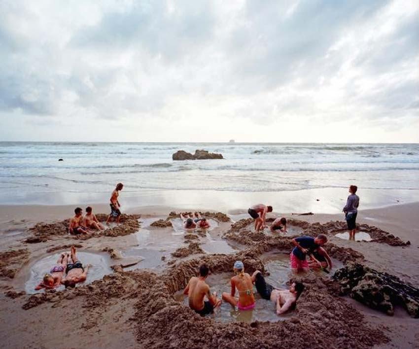 Hot Water Beach Coromandel Zew Zealand