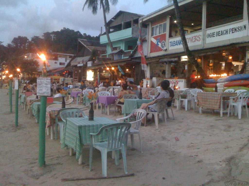 12 sea slugs cafe el nido island