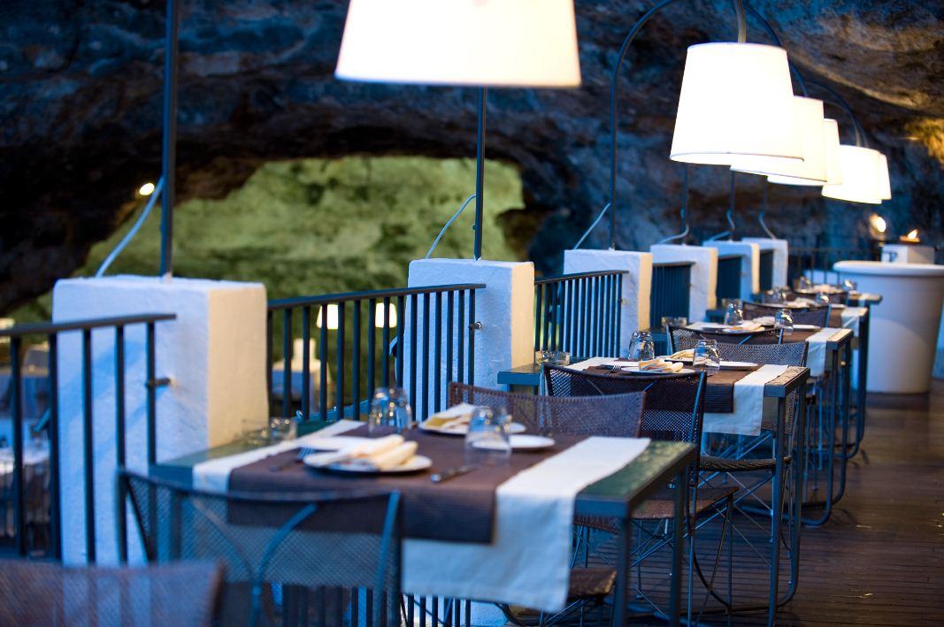 1 stunning photos of italian-cave-restaurant-grotta-palazzese-polignano-mare 11